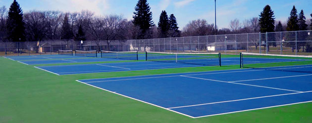 Picture of Tennis courts
