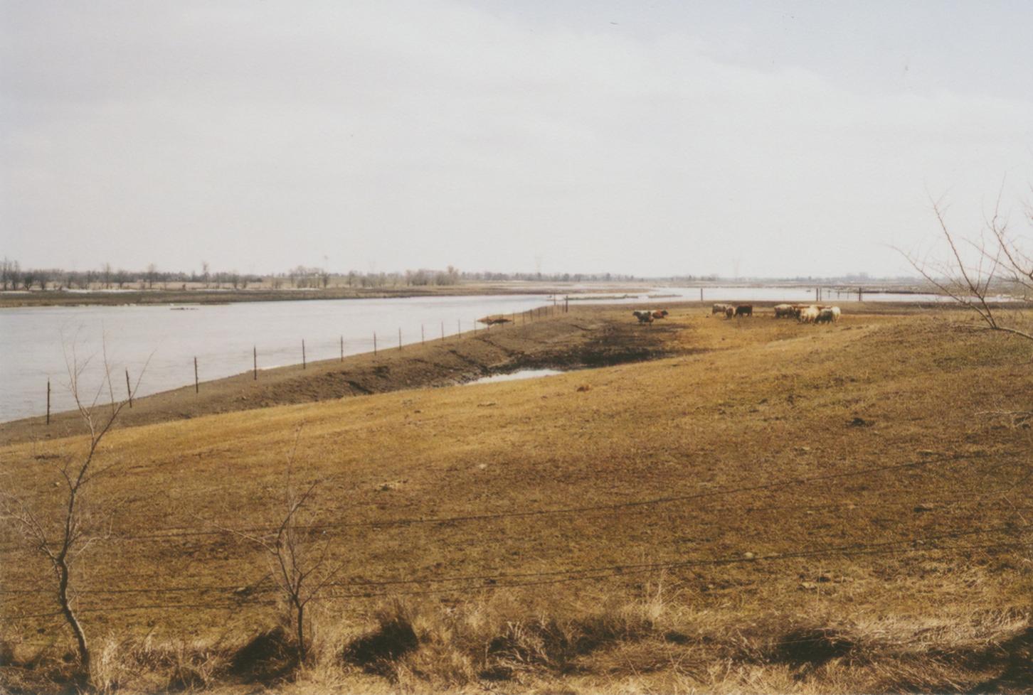 Clean water diverted around livestock pasture