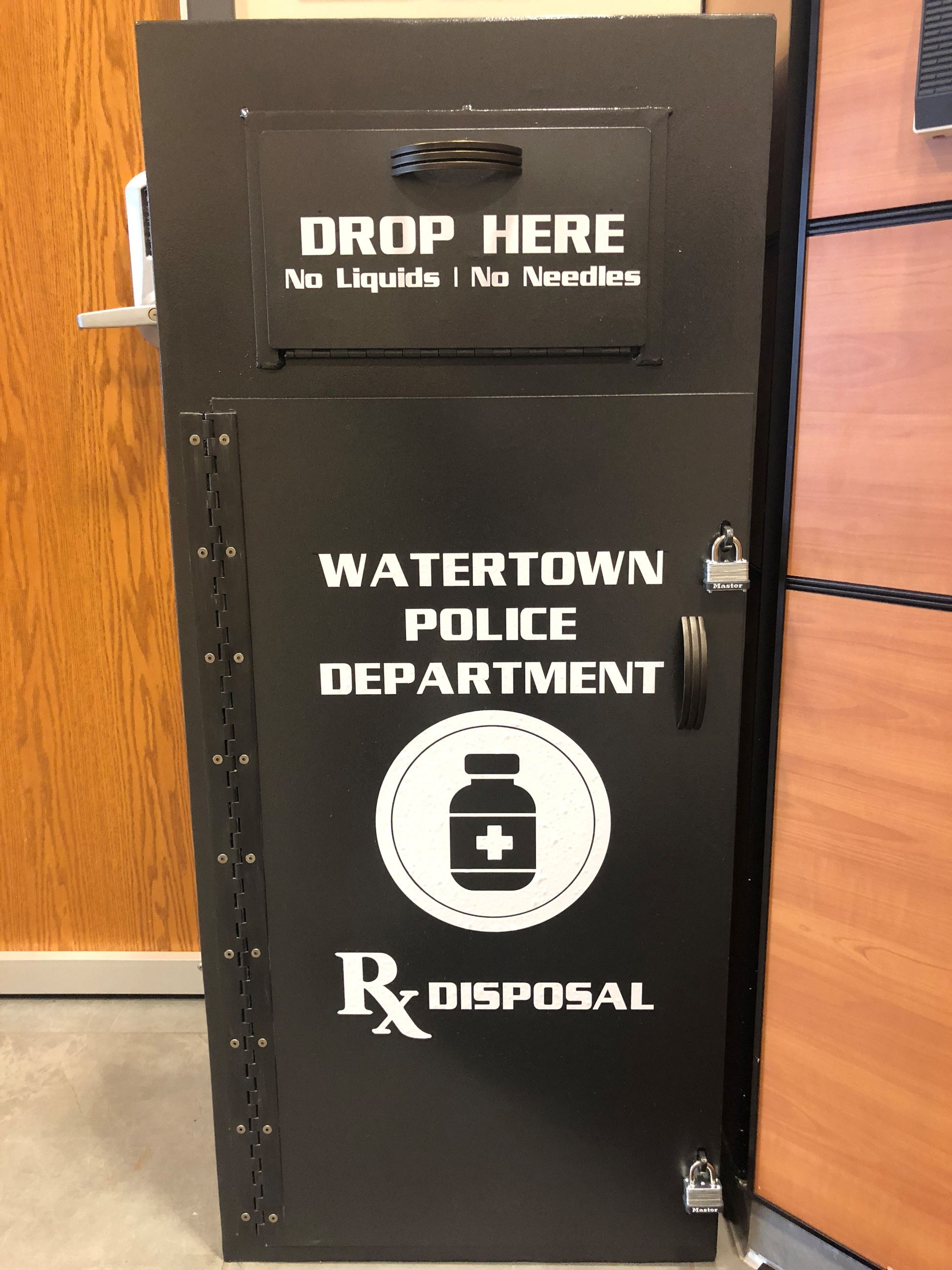 Drug Take Back box 1