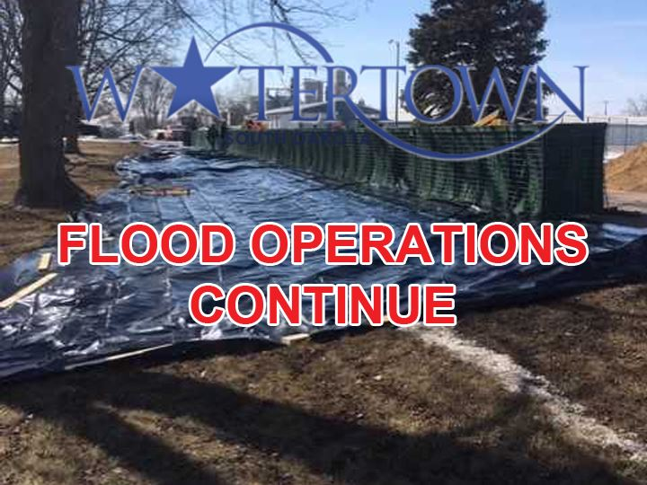 FLOOD OPERATIONS CONTINUE