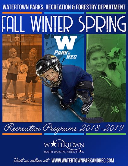 Park & Rec Brochure - Fall-Winter-Spring 2018-2019